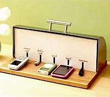 Cell phones charging m