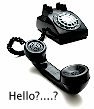 phone old style hello?