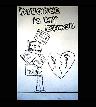 Child pic Divorce is my burden m