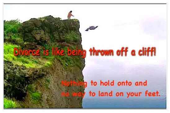 Divorce is like cliff m final