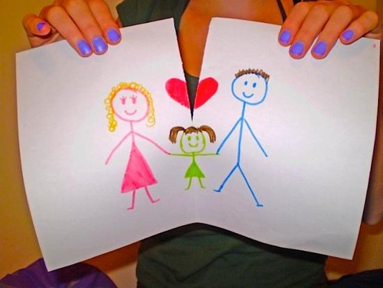 Child pic When my parents divorcedm