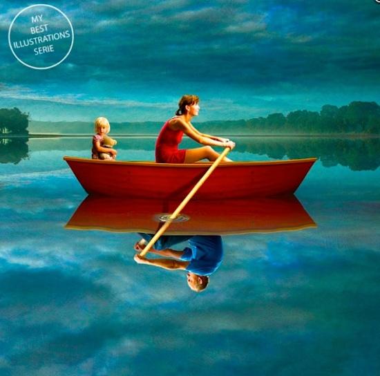 Divorce art p in boat m