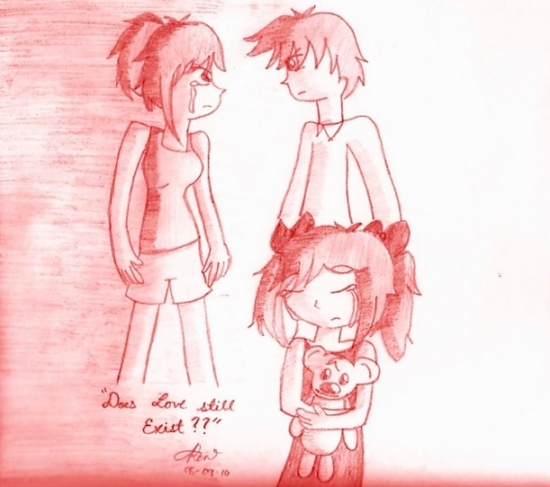 Deviant art Broken family .. m