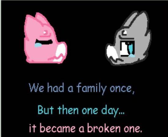 Deviant Art a broken family2016-07-01 at 8.02.26 AM